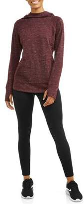 Athletic Works Women's Active Soft Fleece Hoodie & Lux Workout Legging Giftset
