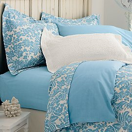 Organic Cotton Fleurette Pillowcases (set of 2)