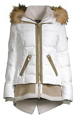 a5891ac9e80152 Bogner Women's Eyla Double-Layer Shearling Puffer Jacket
