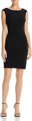 Adrianna Papell Pintuck Matte Jersey Dress