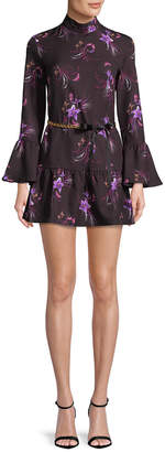 MACKINTOSH Millie Floral Flare Dress