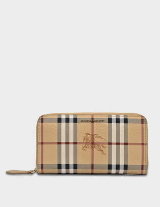 Burberry Elmore Wallet in Mid Camel Synthetic Material