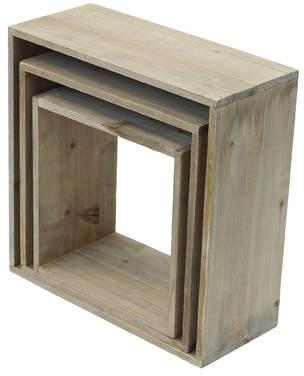 Crates & Pallet Shadow Cube Unit Bookcase