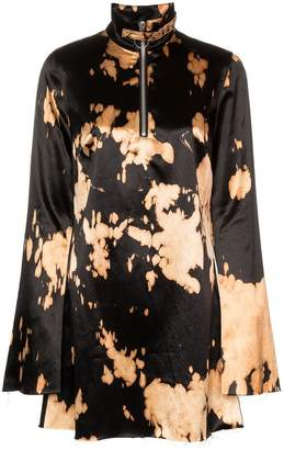 Marques Almeida Marques'almeida Zipped Mini Dress