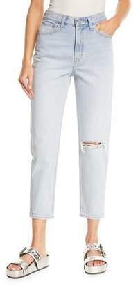Levi's Premium Donna Martin Straight-Leg Cropped Mom Jeans