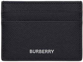 Burberry Navy Sandon Card Holder
