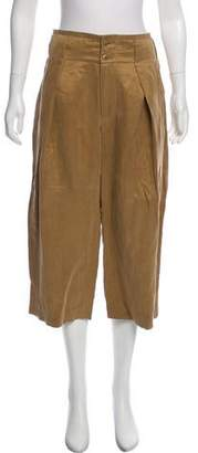 Closed High-Rise Wide-Leg Pants w/ Tags