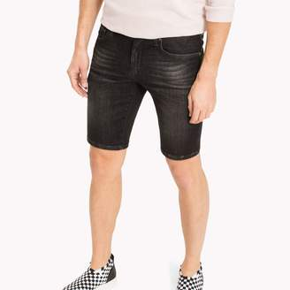 Tommy Hilfiger Black Scanton Slim Fit Jean Short