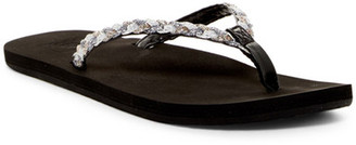 Reef Twisted Stars Flip-Flop (Women) $32 thestylecure.com