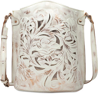 Patricia Nash Tooled Lavello Sling $199 thestylecure.com