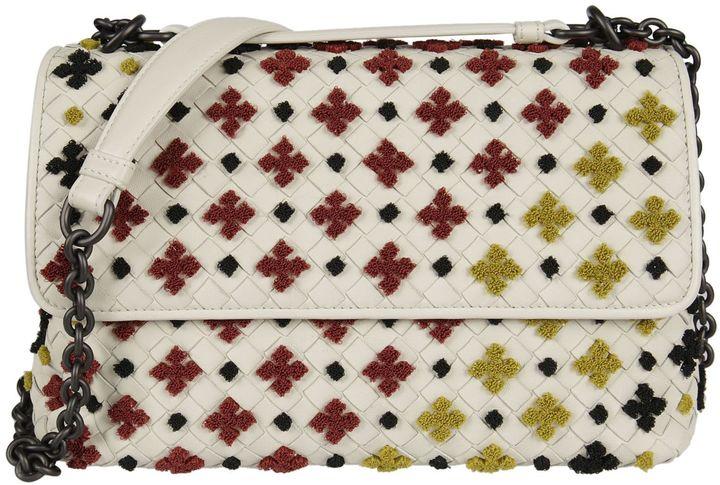 Bottega VenetaBottega Veneta Olympia Mosaic Shoulder Bag