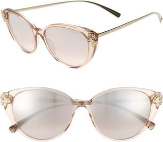 82173eef04 Versace 55mm Embellished Cat Eye Sunglasses