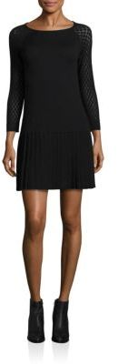 Shoshanna Lisette Knit Drop-Waist Dress $295 thestylecure.com