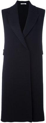 Jil Sander long length waistcoat $1,930 thestylecure.com