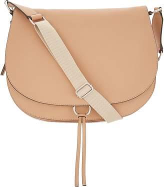 Vince Camuto Leather Shoulder Bag - Barna