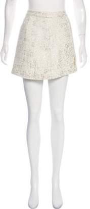 Rachel Zoe Textured Mini Skirt w/ Tags