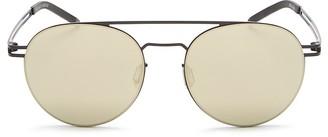 Le Specs Spartan Round Sunglasses, 50mm $79 thestylecure.com