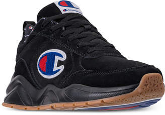 Champion Men 93Eighteen Suede Chenille Athletic Training Sneakers from Finish Line