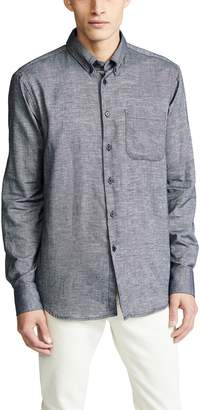 Naked & Famous Denim Easy Shirt - Mix Twill