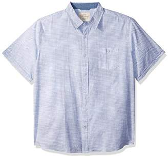 Weatherproof Vintage Men's Short Sleeve Print Shirt