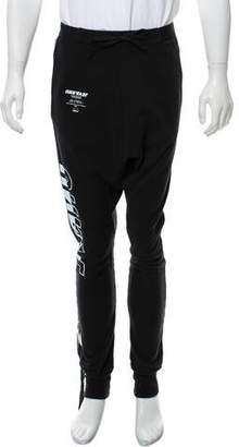 Unravel Project Unravel Tour Terry Low-Rise Jogger w/ Tags