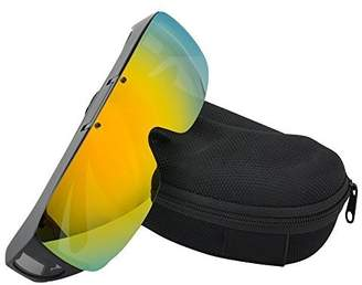 8149f714ec4 TINHAO Flip Up Lenses Fitover Sunglasses - Wear Over Myopia Glasses.Mirrored  lenses
