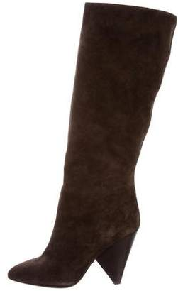 Michael Kors Pointed-Toe Knee-High Boots
