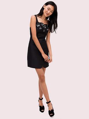 Kate Spade Deco Spade Embellished Dress, Black - Size 0