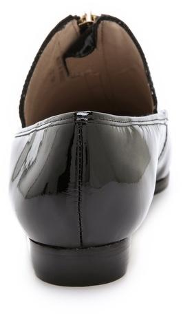 Derek Lam 10 crosby Arty Zip Flats