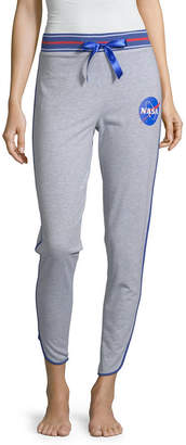 Novelty Licensed Nasa Junior's French Terry Jogger Pajama Pants