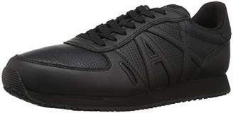 Armani Exchange A|X Men's Lace Up Sneaker Logo