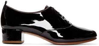 Marc Jacobs Black Patent Betty Oxfords $350 thestylecure.com