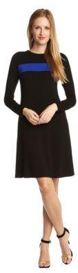 Karen Kane Single Stripe A-Line Dress