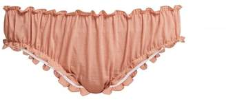 Loup Charmant - Bloomer Organic Cotton Briefs - Womens - Pink