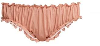 Loup charmant Loup Charmant - Bloomer Organic Cotton Briefs - Womens - Pink