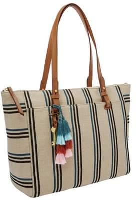 a00094e01 Fossil Rachel Tote Handbags Natural