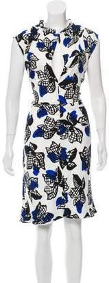 Marni Midi Crepe Dress