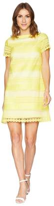 Tahari ASL Short Sleeve Chemical Lace Sheath Dress Women's Dress