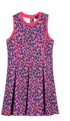 Juicy Couture Off Beat Leopard Scuba Dress