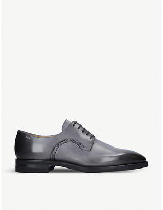 Bally Scrivani leather derby shoes