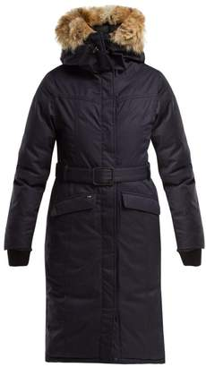 Morgan Nobis Padded Down Coat - Womens - Navy