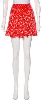 Marc Jacobs Printed Mini Skirt