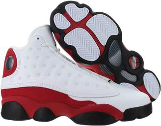 Nike Jordan Kids Air Jordan 13 Retro BG White/Black/True Red/Cool Grey Basketball Shoe Kids US