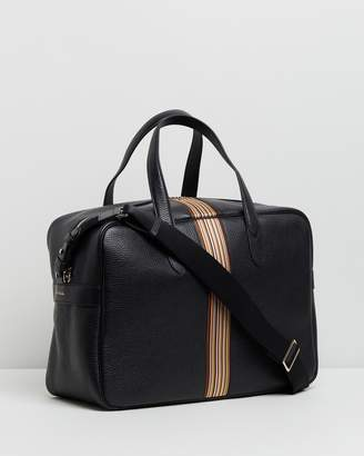 Paul Smith Leather Signature Stripe Weekend Bag b55149ed93321