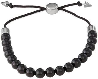 Vera Wang Simply Vera Men's Beaded Adjustable Bracelet