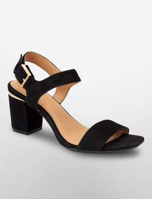 Calvin Klein cimi suede sandal