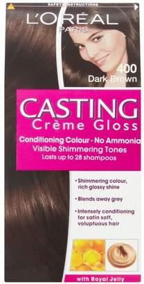 L'Oreal Casting Creme Gloss 400 Dark Brown Semi Permanent Hair Dye