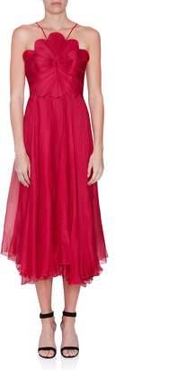 Maria Lucia Hohan Daisy Scalloped Dress