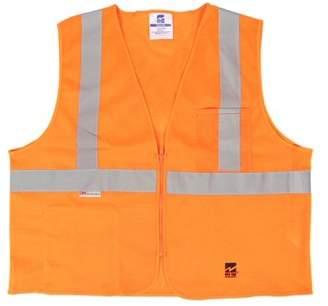 Viking Men's Mesh Zipper Safety Vest, Pack of 25
