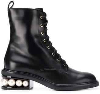 99885792fba ... Nicholas Kirkwood Casati pearl ankle boots